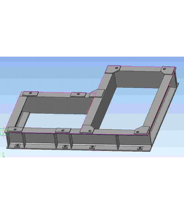 Рамы для агрегатного оборудования, основание для о...
