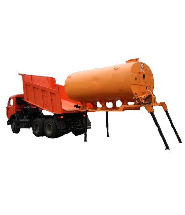 Цистерна 10м3 поливомоечного оборудования в кузов самосвала